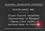 Image of United States Coast Guard ship Rockland Maine USA, 1931, second 5 stock footage video 65675044391
