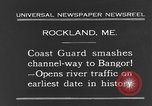 Image of United States Coast Guard ship Rockland Maine USA, 1931, second 7 stock footage video 65675044391