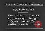 Image of United States Coast Guard ship Rockland Maine USA, 1931, second 10 stock footage video 65675044391
