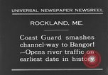 Image of United States Coast Guard ship Rockland Maine USA, 1931, second 11 stock footage video 65675044391