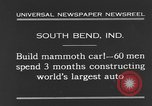 Image of mammoth car South Bend Indiana USA, 1931, second 4 stock footage video 65675044392
