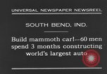 Image of mammoth car South Bend Indiana USA, 1931, second 5 stock footage video 65675044392