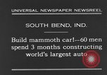 Image of mammoth car South Bend Indiana USA, 1931, second 6 stock footage video 65675044392