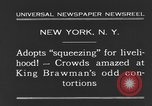 Image of King Brawman New York City USA, 1931, second 10 stock footage video 65675044393