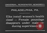 Image of fat women Philadelphia Pennsylvania USA, 1931, second 2 stock footage video 65675044394