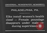 Image of fat women Philadelphia Pennsylvania USA, 1931, second 4 stock footage video 65675044394