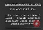 Image of fat women Philadelphia Pennsylvania USA, 1931, second 9 stock footage video 65675044394