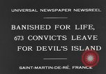 Image of 673 convicts Saint Martin De-Re France, 1931, second 3 stock footage video 65675044395