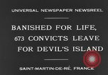Image of 673 convicts Saint Martin De-Re France, 1931, second 4 stock footage video 65675044395