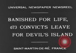 Image of 673 convicts Saint Martin De-Re France, 1931, second 8 stock footage video 65675044395