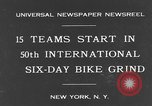 Image of bike race New York City USA, 1931, second 2 stock footage video 65675044396