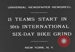 Image of bike race New York City USA, 1931, second 5 stock footage video 65675044396