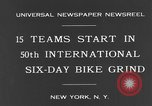 Image of bike race New York City USA, 1931, second 6 stock footage video 65675044396