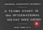 Image of bike race New York City USA, 1931, second 8 stock footage video 65675044396