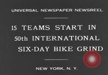 Image of bike race New York City USA, 1931, second 9 stock footage video 65675044396