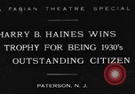 Image of Harry B Haines Paterson New Jersey USA, 1931, second 1 stock footage video 65675044397