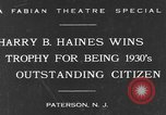 Image of Harry B Haines Paterson New Jersey USA, 1931, second 2 stock footage video 65675044397