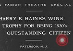 Image of Harry B Haines Paterson New Jersey USA, 1931, second 3 stock footage video 65675044397