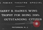 Image of Harry B Haines Paterson New Jersey USA, 1931, second 4 stock footage video 65675044397