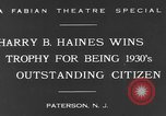 Image of Harry B Haines Paterson New Jersey USA, 1931, second 5 stock footage video 65675044397