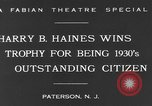 Image of Harry B Haines Paterson New Jersey USA, 1931, second 7 stock footage video 65675044397