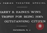 Image of Harry B Haines Paterson New Jersey USA, 1931, second 8 stock footage video 65675044397