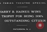 Image of Harry B Haines Paterson New Jersey USA, 1931, second 10 stock footage video 65675044397