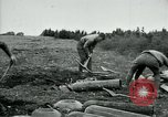 Image of Livens gas projectors World War 1 Chaumont France, 1918, second 2 stock footage video 65675044420