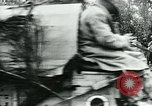 Image of American troops and French tanks in World War I France, 1918, second 3 stock footage video 65675044427