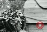 Image of American troops and French tanks in World War I France, 1918, second 5 stock footage video 65675044427