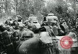 Image of American troops and French tanks in World War I France, 1918, second 7 stock footage video 65675044427