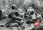 Image of American troops and French tanks in World War I France, 1918, second 10 stock footage video 65675044427