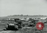 Image of British Medium Mk A tanks France, 1918, second 2 stock footage video 65675044429