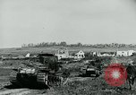 Image of British Medium Mk A tanks France, 1918, second 3 stock footage video 65675044429