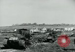 Image of British Medium Mk A tanks France, 1918, second 4 stock footage video 65675044429