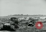 Image of British Medium Mk A tanks France, 1918, second 5 stock footage video 65675044429