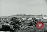 Image of British Medium Mk A tanks France, 1918, second 6 stock footage video 65675044429