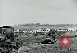 Image of British Medium Mk A tanks France, 1918, second 11 stock footage video 65675044429