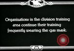 Image of US Army cavalry gas mask training United States USA, 1918, second 4 stock footage video 65675044439
