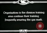 Image of US Army cavalry gas mask training United States USA, 1918, second 5 stock footage video 65675044439