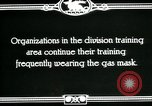 Image of US Army cavalry gas mask training United States USA, 1918, second 7 stock footage video 65675044439