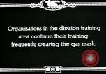 Image of US Army cavalry gas mask training United States USA, 1918, second 8 stock footage video 65675044439