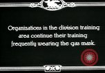 Image of US Army cavalry gas mask training United States USA, 1918, second 11 stock footage video 65675044439