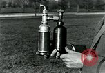 Image of McBride gas gun United States USA, 1921, second 9 stock footage video 65675044445