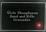 Image of Phosphorous hand grenades United States USA, 1921, second 1 stock footage video 65675044447