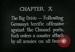 Image of Montage of World War 1 battle scenes Europe, 1918, second 2 stock footage video 65675044458