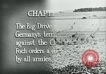 Image of Montage of World War 1 battle scenes Europe, 1918, second 11 stock footage video 65675044458
