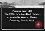 Image of 128th Infantry Regiment Alsace France, 1918, second 1 stock footage video 65675044465