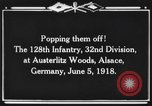 Image of 128th Infantry Regiment Alsace France, 1918, second 4 stock footage video 65675044465