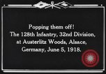 Image of 128th Infantry Regiment Alsace France, 1918, second 5 stock footage video 65675044465